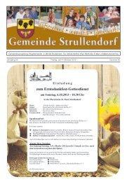 Mitteilungsblatt KW 40 im Jahr 2013 - Strullendorf