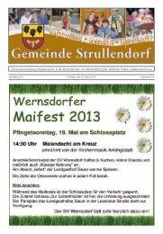Mitteilungsblatt KW 19 im Jahr 2013 - Strullendorf