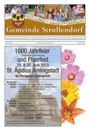 Mitteilungsblatt KW 26 im Jahr 2013 - Strullendorf