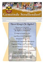 Mitteilungsblatt KW 7 im Jahr 2013 - Strullendorf