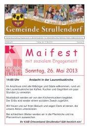 Mitteilungsblatt KW 20 im Jahr 2013 - Strullendorf