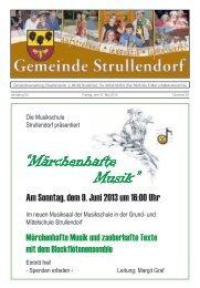 Mitteilungsblatt KW 22 im Jahr 2013 - Strullendorf