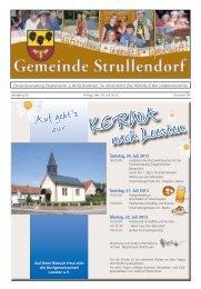 Mitteilungsblatt KW 29 im Jahr 2013 - Strullendorf