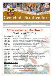 Mitteilungsblatt KW 27 im Jahr 2013 - Strullendorf