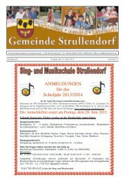 Mitteilungsblatt KW 15 im Jahr 2013 - Strullendorf