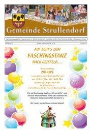 Mitteilungsblatt KW 6 im Jahr 2014 - Strullendorf