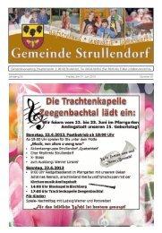 Mitteilungsblatt KW 25 im Jahr 2013 - Strullendorf