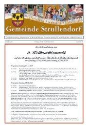 Mitteilungsblatt KW 49 im Jahr 2013 - Strullendorf