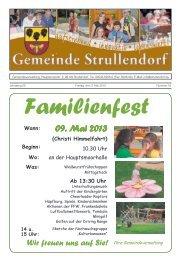 Mitteilungsblatt KW 18 im Jahr 2013 - Strullendorf