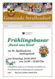 Mitteilungsblatt KW 11 im Jahr 2013 - Strullendorf