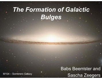 The Formation of Galactic Bulges