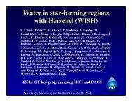 Water in star-forming regions with Herschel (WISH)