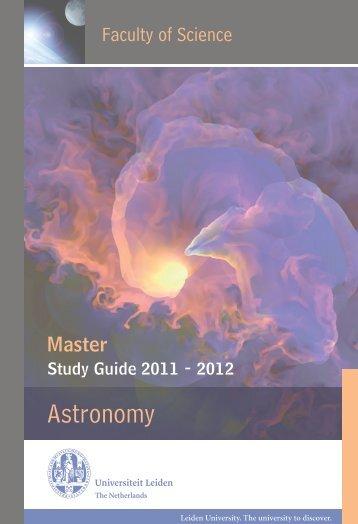 Astronomy - Leiden Observatory