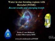 Water in star-forming regions with Herschel (WISH) - Leiden ...