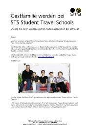 Gastfamilie werden bei STS Student Travel Schools