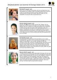 läs presentationerna (pdf) - STS