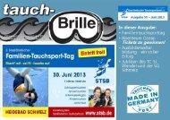 tauch-Brille 2013-Juni - August - STSB