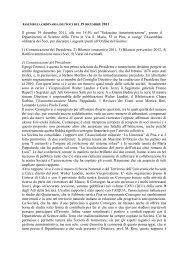 Assemblea Ordinaria dei Soci del 19 dicembre 2011 (PDF) - Società ...
