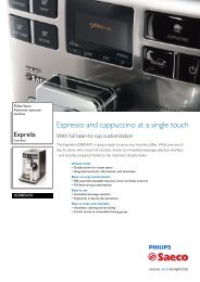 HD8854/01 Philips Automatic espresso machine