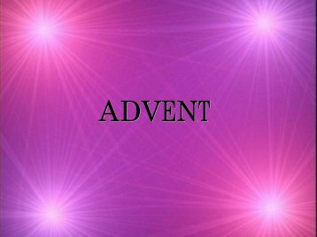 Advent Prayer - Marge Krawczuk-Power Point Version (pdf)