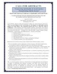 CALL FOR ABSTRACTS - St. Thomas University