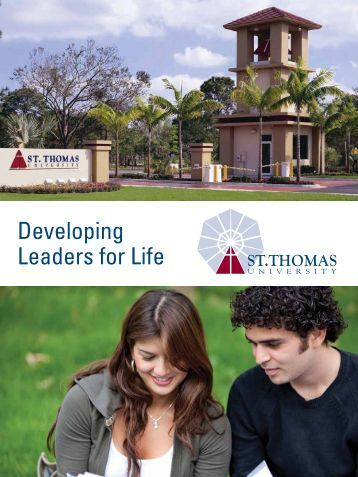 Developing Leaders for Life - St. Thomas University