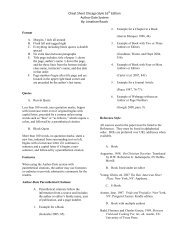 Cheat Sheet Chicago Style 16th Edition Author-Date System By ...