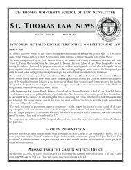 st. thomas law news symposium revealed diverse perspectives on ...