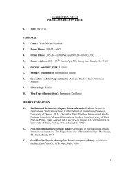 1 CURRICULUM VITAE PIERRE-MICHEL FONTAINE 1. Date: 04/23 ...