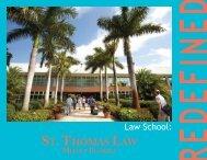 St. Thomas Law Viewbook - St. Thomas University