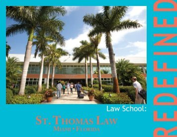 St. Thomas Law Viewbook - St. Thomas University