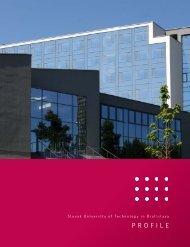 PROFILE - Slovenská technická univerzita v Bratislave