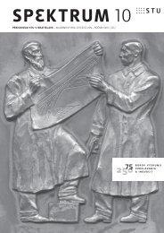 SPEKTRUM 10 - Slovenská technická univerzita v Bratislave