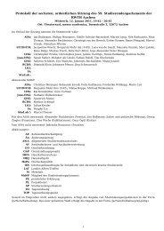 Protokoll der sechsten, ordentlichen Sitzung des 59 ...