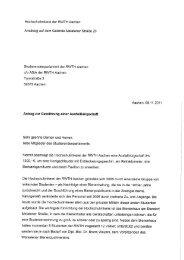 Antrag zur Gewährung einer Ausfallbürgschaft - Studierendenschaft ...