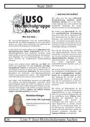 Juso-Hochschulgruppe Aachen - Studierendenschaft der RWTH ...