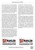 Wahlzeitung 2011 - Studierendenschaft der RWTH Aachen - RWTH ... - Page 5