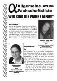 """""""WIR SIND DIE WAHRE ALFA!!!"""" - Studierendenschaft der RWTH ..."""