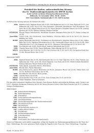 beschlossenes Protokoll der 5. Sitzung - Studierendenschaft der ...