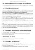 beschlossenes Protokoll der 5. Sitzung - Studierendenschaft der ... - Page 2