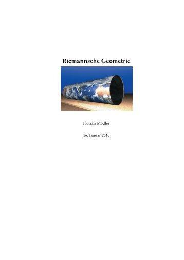 Riemannsche Geometrie
