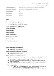 Protokoll vom 24.05.2012