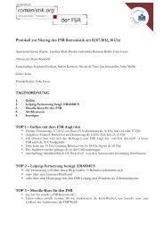 FSR Protokoll vom 02.07.2012