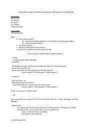 Protokoll der außerordentlichen Sitzung des FSR Linguistik am ...