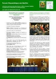 Forum Moçambique em Berlim