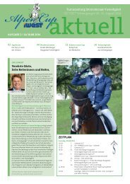 iWEST Alpencup aktuell - Ausgabe Samstag