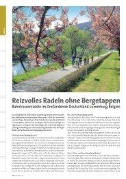 Radwege der Südeifel - Tourist Information Bitburger & Speicherer ...
