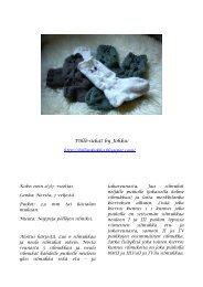Pöllö-sukat by Johku: - Student Oulu
