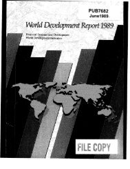 Financial systems and development