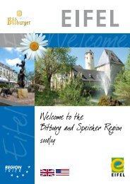 the Bitburg and Speicher Region - Tourist Information Bitburger ...